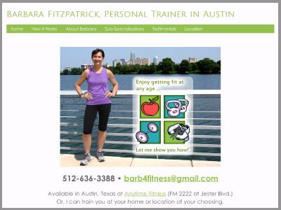 Barbara Fitzpatrick, fitness trainer