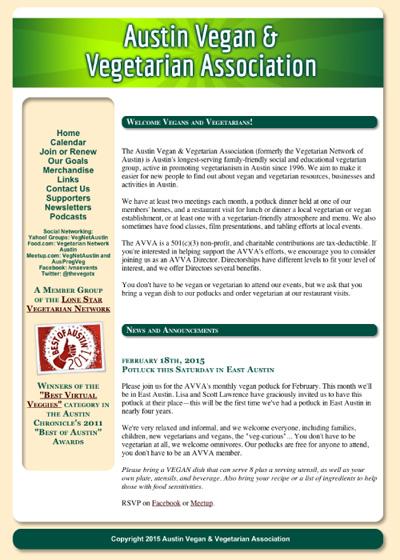Austin Vegan & Vegetarian Association