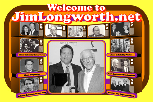 TV show host Jim Longworth