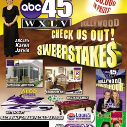 Sweepstakes direct mail cover