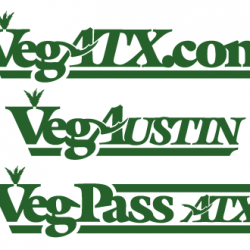 Logos for components of the VegATX brand