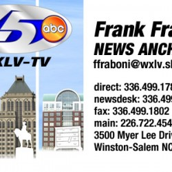ABC45 business card