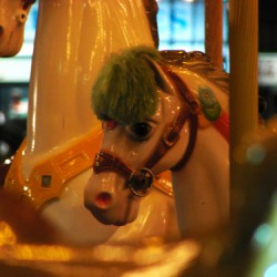 Carousel horse, Winston-Salem